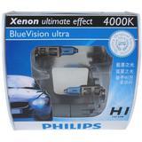 PHILIPS BLUE VISION ULTRA 4000K - H1 [12258BVU] - Bohlam Mobil